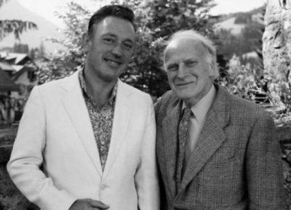 Yehudi Menuhin with Alberto Lysy