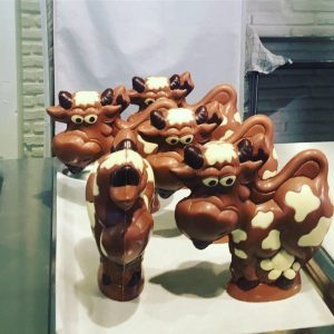 Chocolate's Cows