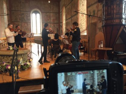 Working with Capella Gabetta!