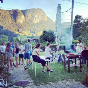 Summer Camp Barbecue :)