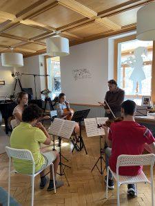 Quartet lesson with Andres Gabetta