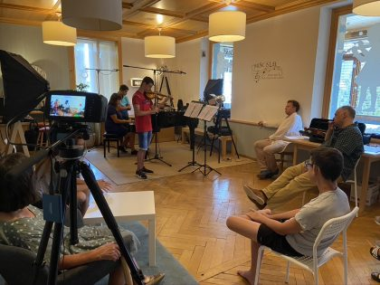 Lesson with Andrey Baranov