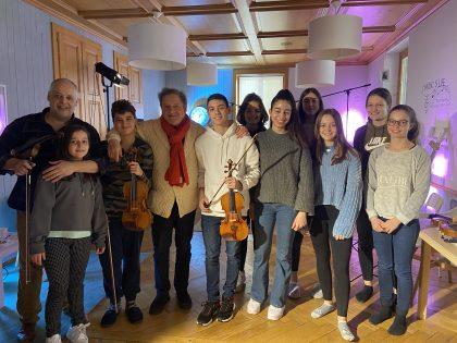 Family pic with Pavel Vernikov!